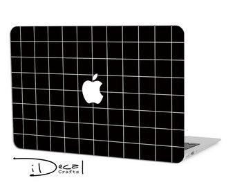 "black macbook decal macbook skin for Apple Macbook Air 11, Macbook Air 13 & Mac Pro 13 Retina, Macbook 12"", Macbook Pro 15 Retina"