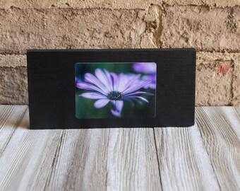 purple beauty fine art wood display - paperweight