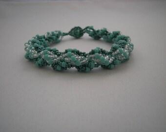 JW Double Spiral Bracelet