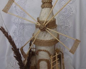 Windmill, shop window decoration