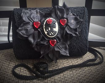 Antique gothic handbag
