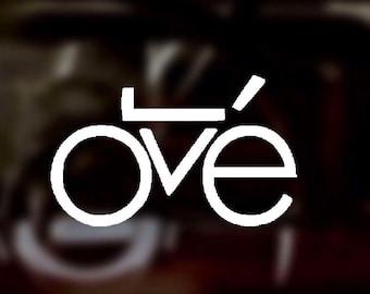 Bicycle Love | Vinyl Decal