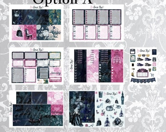 Bippity Boppity Boo -a Weekly kit for Erin Condren Planners