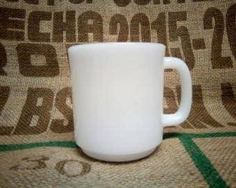 Vintage Glasbake Milk Glass Cup