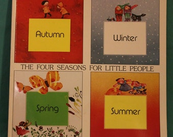 1982 The Four Seasons For Little People by Joseph Parramon