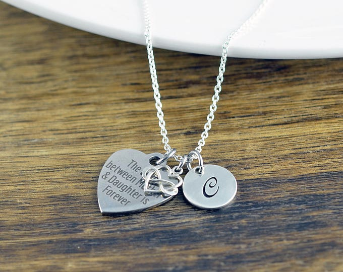 The Love Between A Mother And Daughter Is Forever Necklace / Mother and Daughter Gift, Mothers Jewelry, Mothers Day Gift, Mothers Necklace