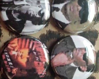 4 Pin Button set  R  Kelly 1 inch Buttons