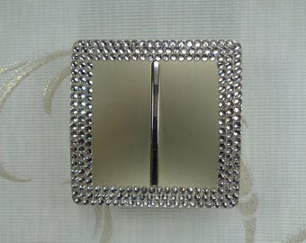 Trendy light-switch with luxury Preciosa TM clear crystals