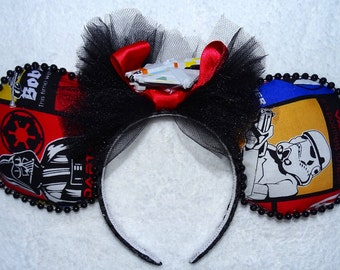 Mickey Mouse Headband Minni Mouse Headband Minnie Mouse ears Star Wars Inspired