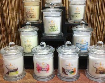 Tropicna Range - By Ember - Coconut Wax Candles