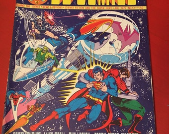 The Amazing world of DC Comics / Super Heroes Comic Book 1976 No. 12