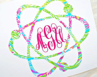 Atom Monogram Decal