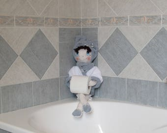 Toilet paper doll holder for Bathroom