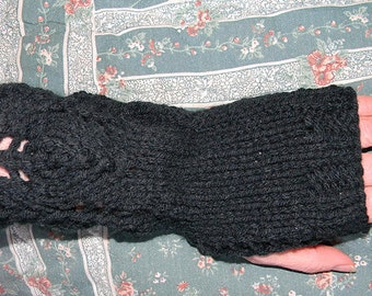 Three Flame Fingerless Gloves