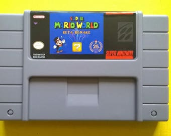 Super Mario World Beta Revival - SNES Reproduction