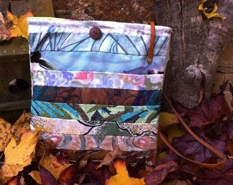 Patchwork Handbag. Original Design. Handmade.