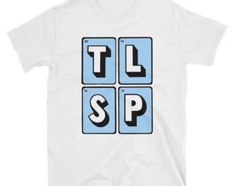 The Last Shadow Puppets - Blue TLSP T-Shirt