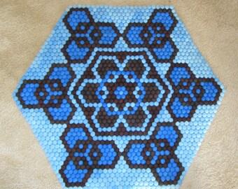 Made To Order Wool Felt Hexagon Rugs