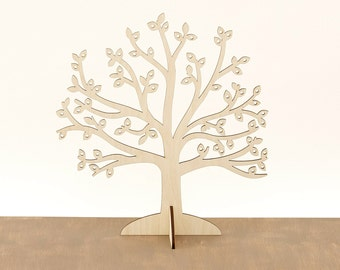 Wooden Jewelry Tree / Earring Holder / Jewelry Stand / Jewelry Organizer / Wood earning holder MG000598