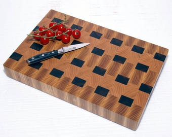End grain cutting board / End grain chopping board / End grain cutting block / End grain cutting board