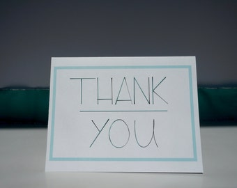 Thank You // Thank You Card // Greeting Card