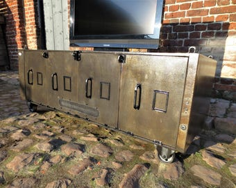 Tv TV stand industrial cast iron