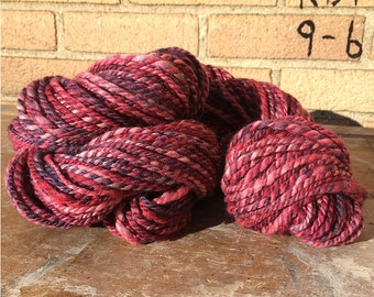 Handspun Polworth Silk - Pinks - 175 Yards