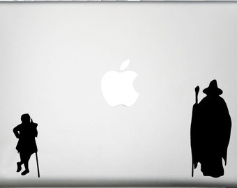 Lord of the Rings Decal-Gandalf and Frodo