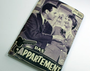 vintage sketchbook bullet journal | film programme | The Apartment for movie and film lovers hippies | handmade