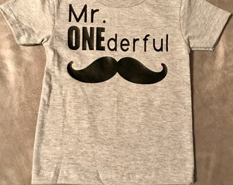 Mr ONEderful shirt