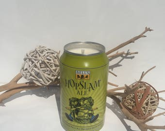 HopSLam Beer Candle