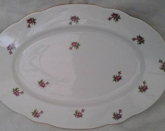 Czechoslovakian porcelain serving platter