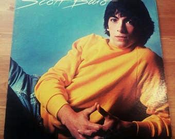 Scott Baio Self Titled Album LP 1982 Vintage Vinyl Record Album 1980's 80's 1970's 70's Hipster