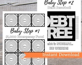 Debt snowball | Etsy