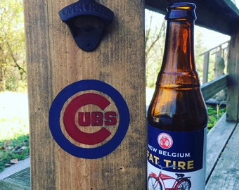 Cubs Bottle Opener / CHOOSE ANY TEAM