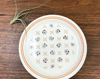 Flower Print Side Plates