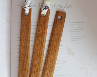 Wooden Bookmark. Wood Bookmark. Wood Book Mark. Oak Bookmark. Bookmark Wood. Ribbon Bookmark.