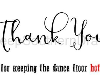 DJ Thank you cards