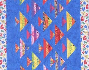 Fish quilt | Etsy : fish quilt - Adamdwight.com