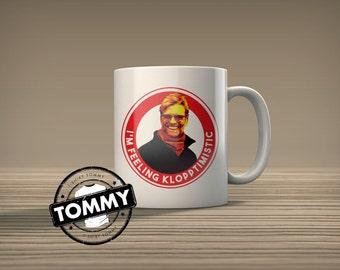 Liverpool Jurgen Klopp Mug - Feeling Klopptomistic