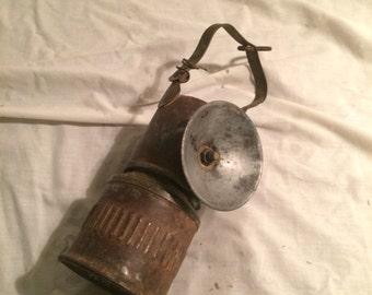 Antique Mining Lamp circa 1905-1915