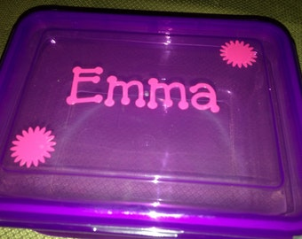 Kids Personalized Sandwich container