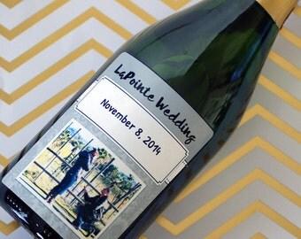 Anniversary Wine Label, Engagement Gift, Wedding Gift, Wedding Wine Label, Custom Wine Label, Personalized Wine Label, Wine Label, Gift
