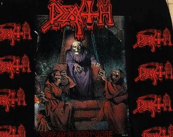 Classic DEATH - Scream Bloody gore longsleeve shirt - S - Carcass,Massacre,Entombed,Terrorizer,Carnage.