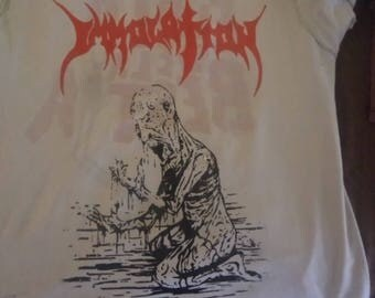 Classic Immolation -  Demo  T shirt - Carcass,Death Entombed,Massacre  S to XXL