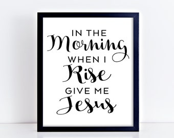 Give me Jesus, christian art, printable quote, printable art, christian printable, digital printable, jesus, jesus printable