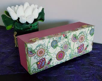 Tea Tea Time, 4 compartments in long box