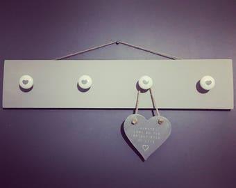 Wall hung hooks