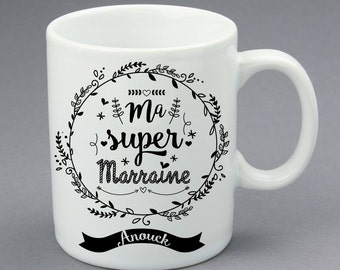Mug Super Marraine