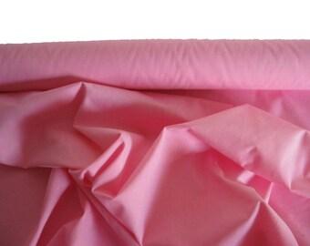 Pink Poly/Cotton Blend Poplin Fabric, 112 cm.